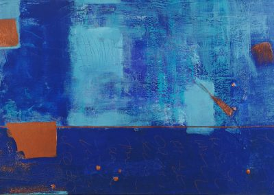 "Beyond 36"" x 48"" acrylic on canvas"