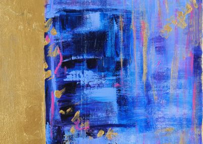"Spirit 12"" x 14' acrylic on canvas"