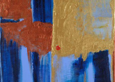 """Sunny 12' x 14"""" acrylic on canvas"""