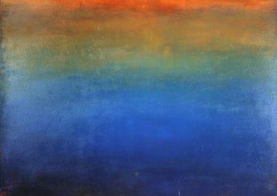 """Somewhere Over the Rainbow, acrylic on canvas 60"""" x 48"""""""""""